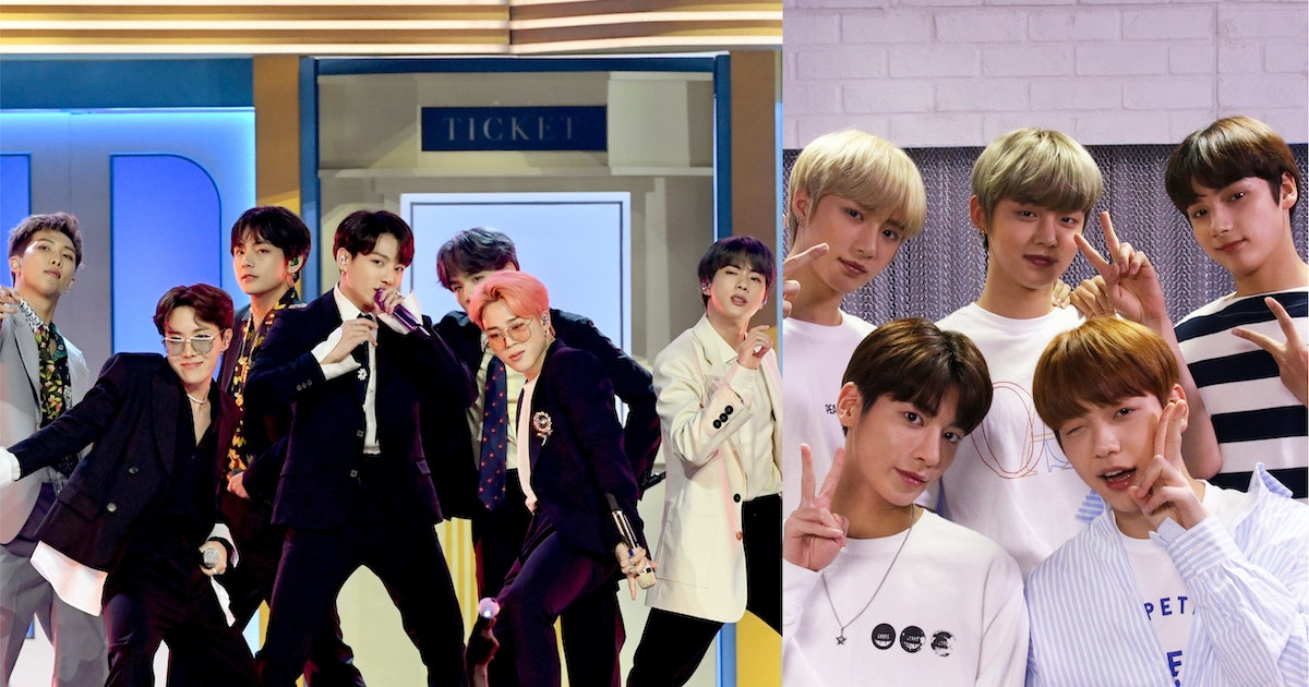 The Videos Of BTS & TXT Reacting To Each Other's MAMAs Performances Are Too Cute