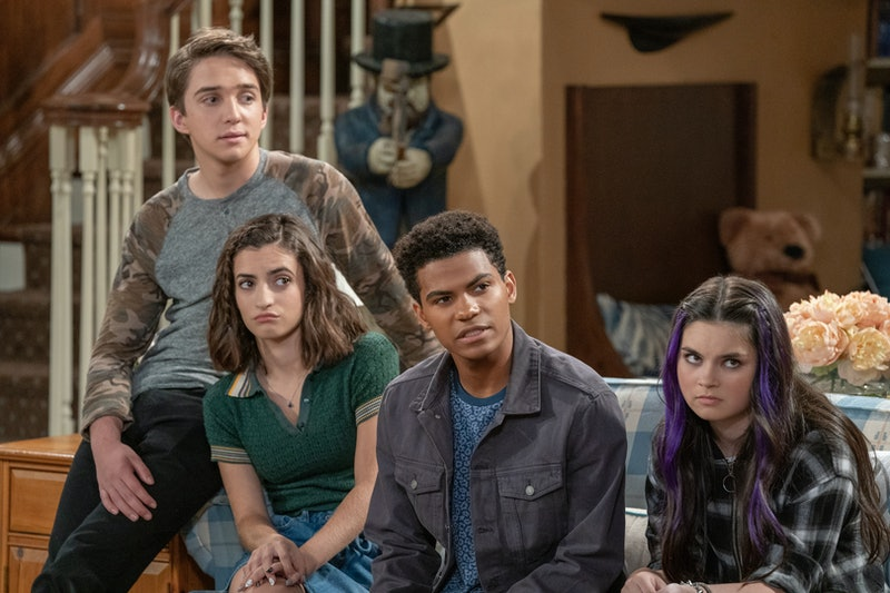 Jackson, Ramona, Ethan, and Rocki on Fuller House Season 5