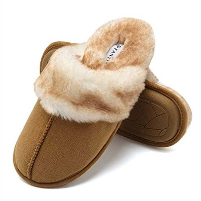 CIOR Fantiny Fur-Lined Slippers