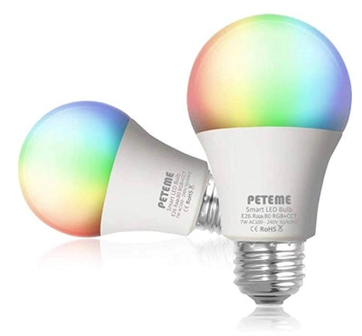 Peteme Smart LED Light Bulb (2-Pack)