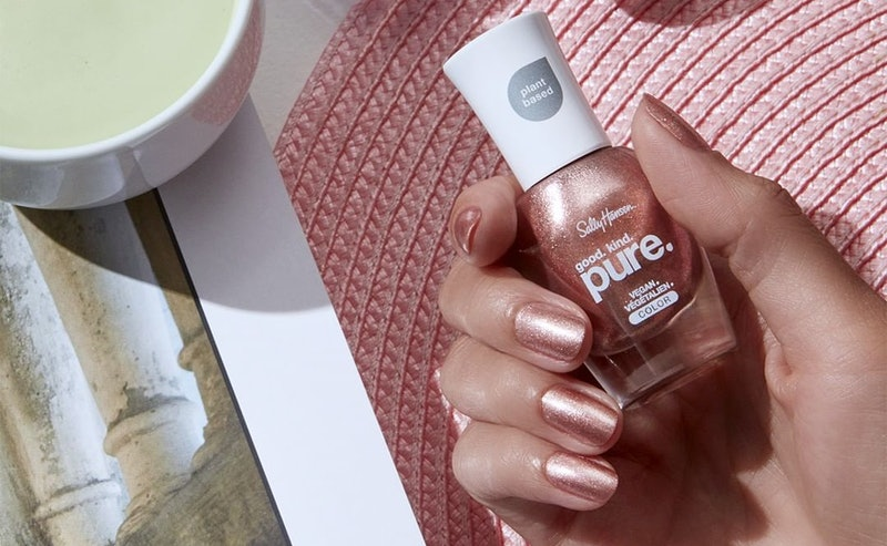 Nail color from Sally Hansen's new good. kind. pure. line