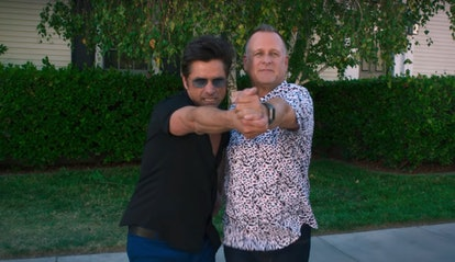 John Stamos as Uncle Jesse and Dave Coulier as Joey in Fuller House Season 5