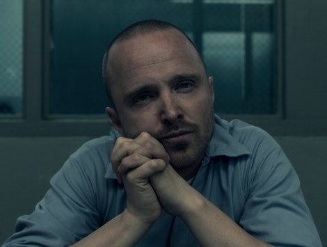 Aaron Paul as Warren Cave in Truth Be Told