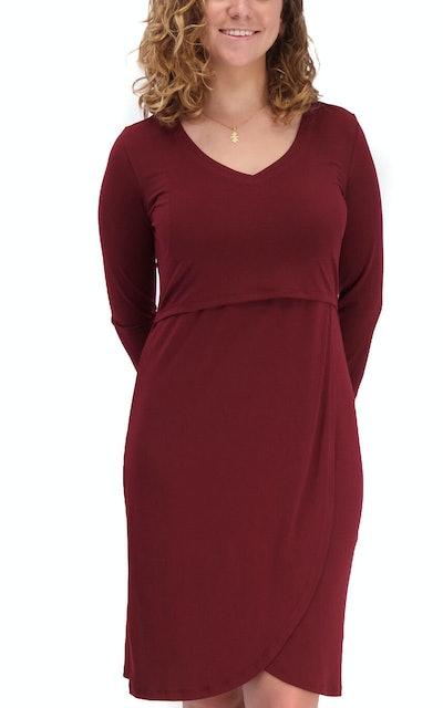 Milk Nursingwear Tulip Hem Nursing Dress