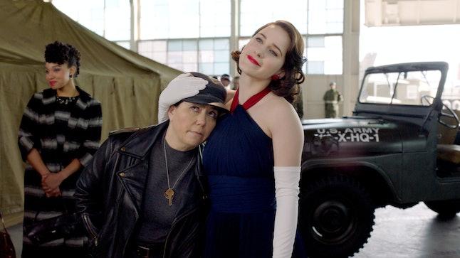 Susie Myerson (Alex Borstein) and Midge Maisel (Rachel Brosnahan) hit the road in Season 3 of 'The Marvelous Mrs. Maisel.'