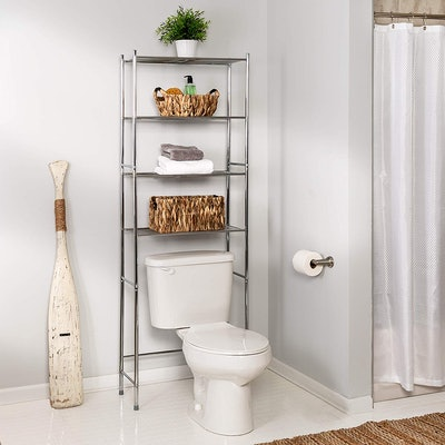 Honey-Can-Do Metal Bathroom Shelf