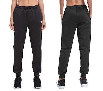BALEAF Women's Fleece Jogger Sweatpants