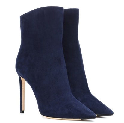 Helaine 100 suede ankle boots