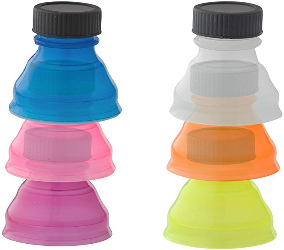 Smart House Inc Clear Soda Can Lids (6-Pack)