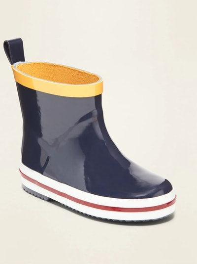 Old Navy Short Rubber Rain Boots for Toddler Boys