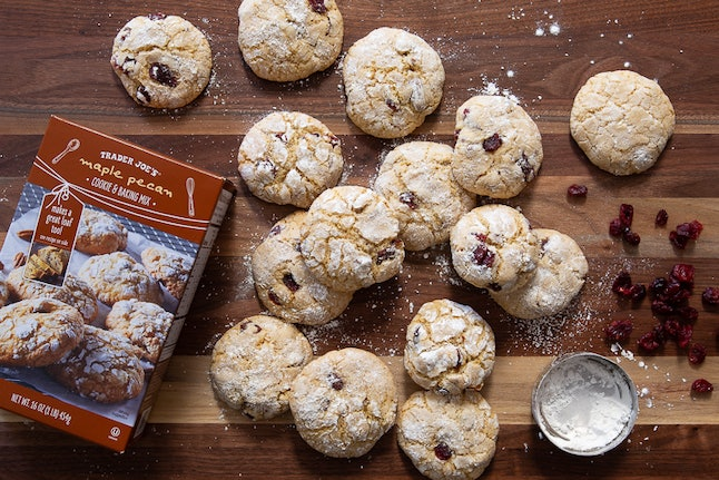 Trader Joe's maple pecan cookies will spice up your holiday cookie spread.