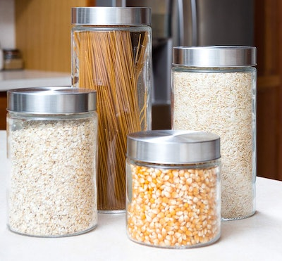EatNeat Glass Canister Set (5-Piece)