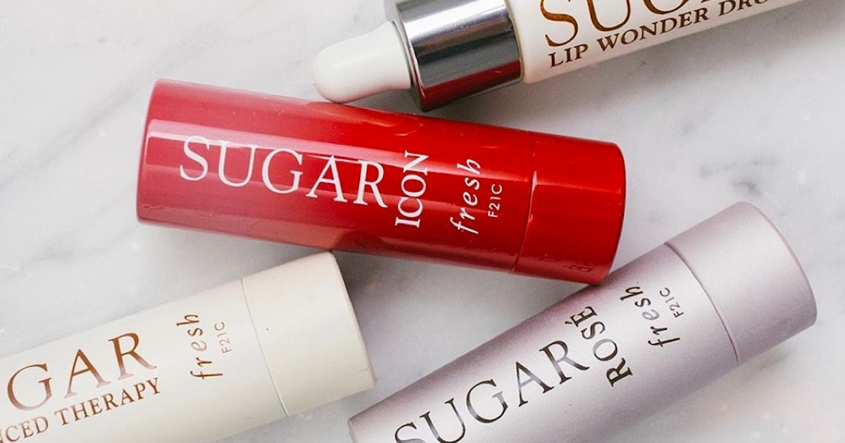 Fresh Beauty's New Sugar Icon Lip Treatment Adds A Bold Color To The Brand's Crowd-Fave Lineup