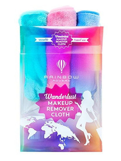 RAINBOW ROVERS Makeup Remover Wipes (3-Pack)