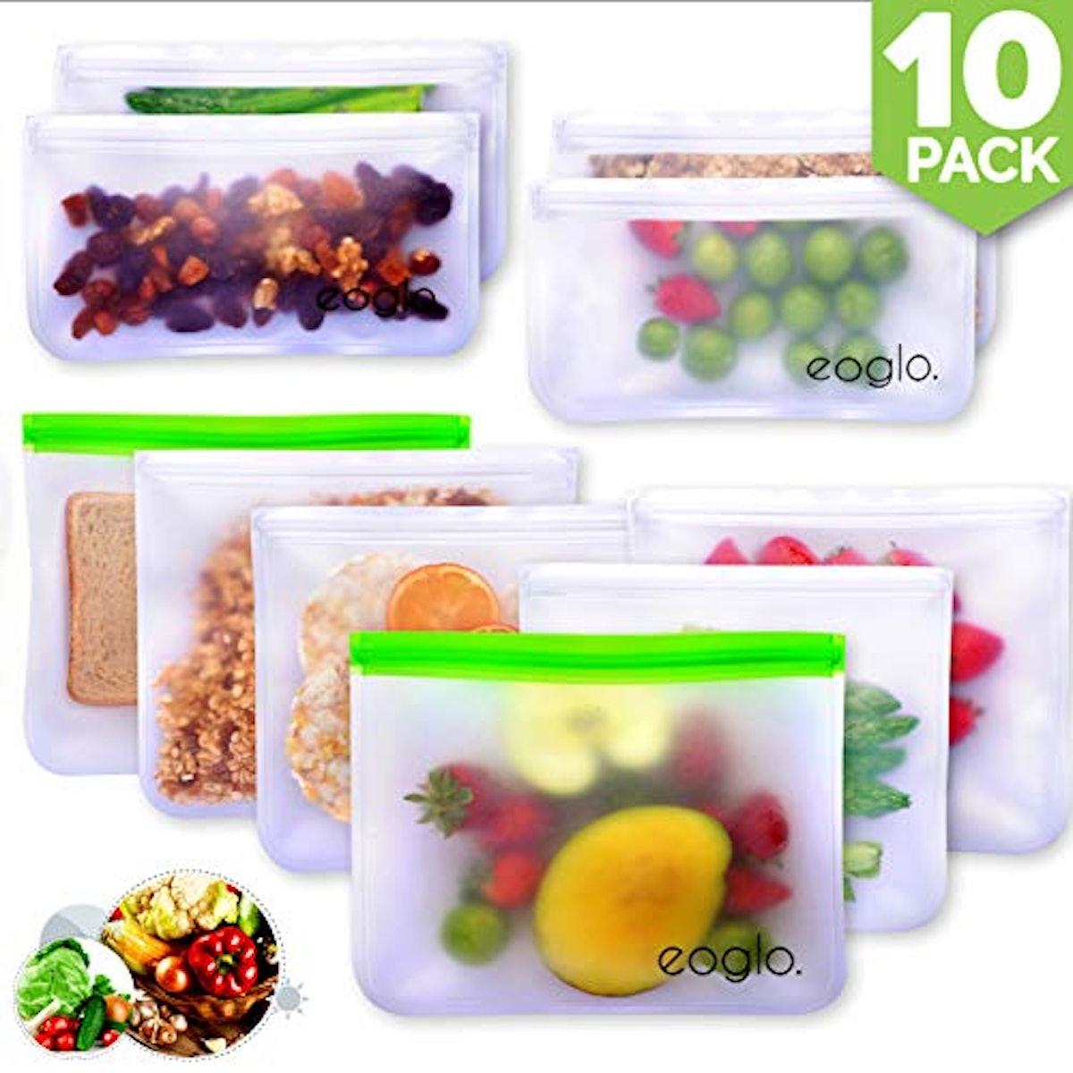 innokitchen Reusable Storage Bags (10-Pack)