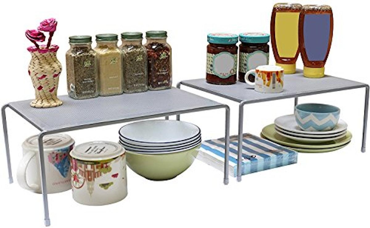 DecoBros Expandable Stackable Kitchen Shelves