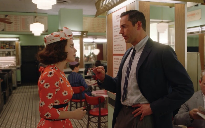 Zachary Levi as Benjamin confronting Midge in The Marvelous Mrs. Maisel Season 3