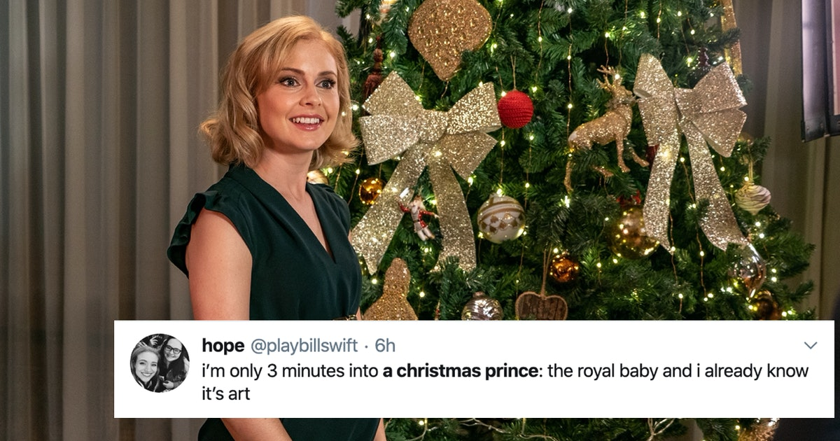 16 Tweets About 'A Christmas Prince 3' That Are Royally Hilarious