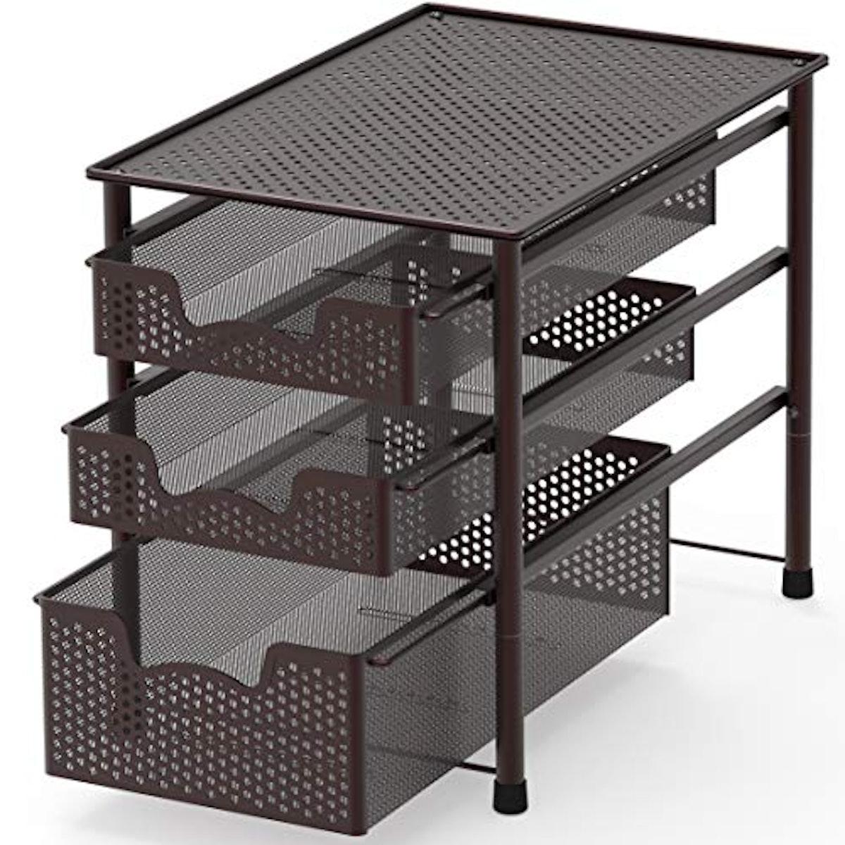 Simple Houseware Tiered Basket Organizer