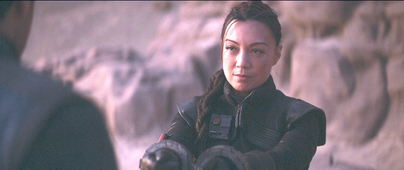 Ming-Na Wen finally made her appearance on The Mandalorian as assassin Fennec Shand.