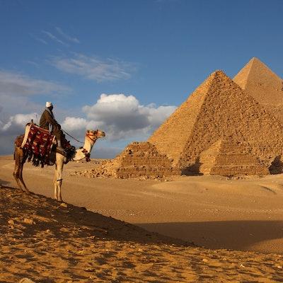 Take a Camel Ride through the Desert in Cairo