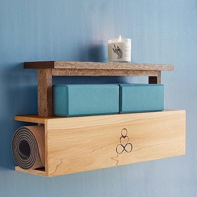 Yoga Mat Storage and Display