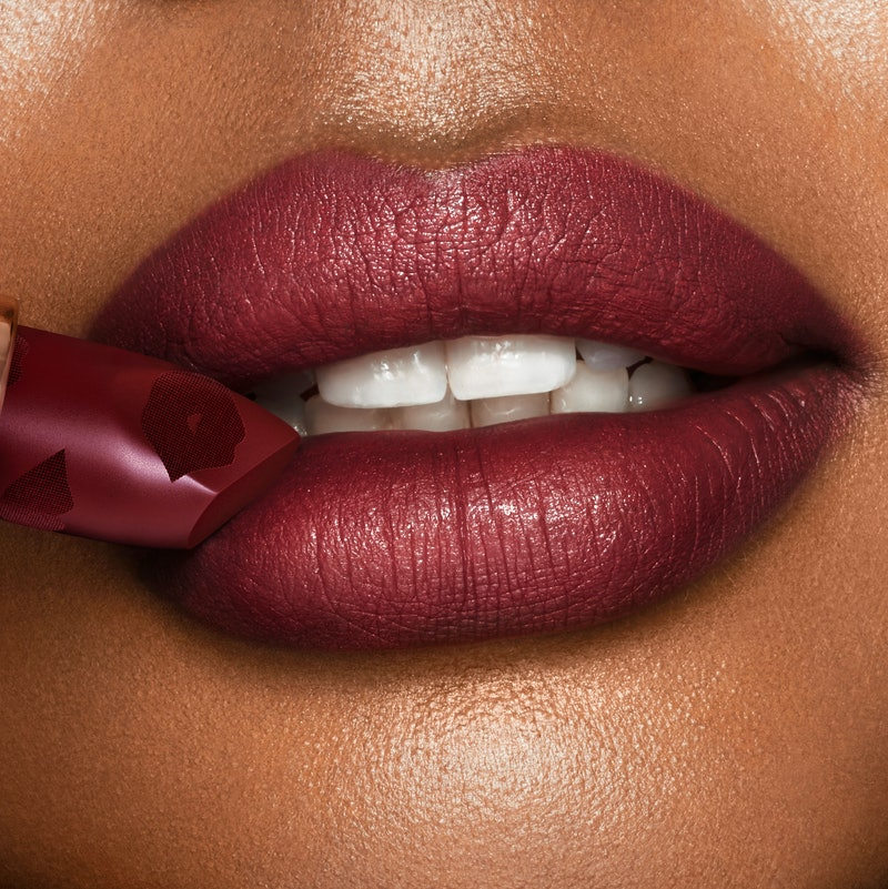 """Charlotte Tilbury's new Scarlet Spell lipstick shade is like a """"little black dress"""" for your lips"""