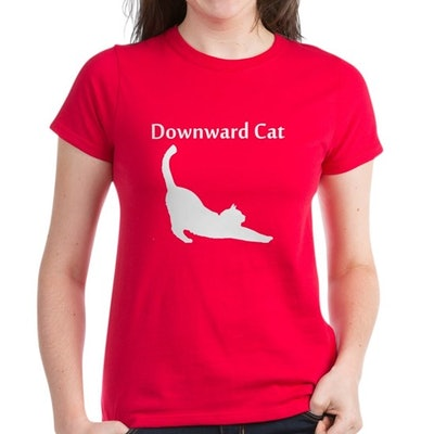 Downward Cat Shirt