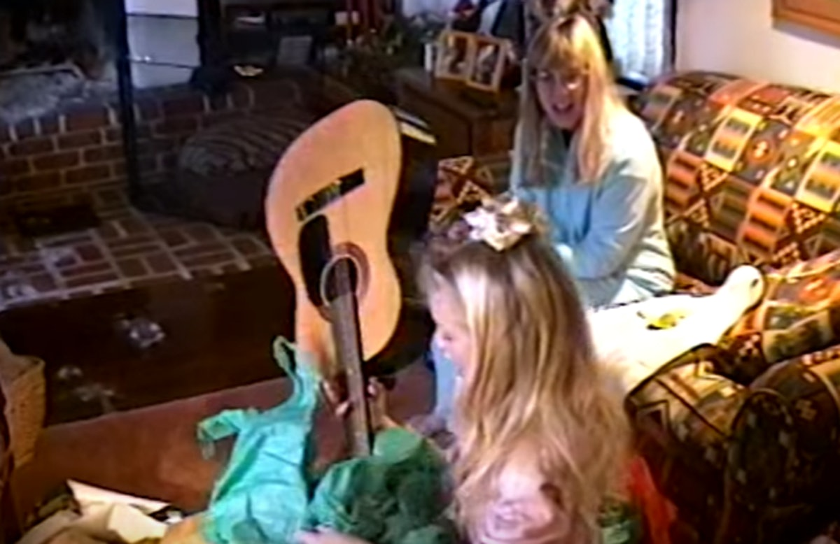 """Taylor Swift's """"Christmas Tree Farm"""" video takes you through her childhood."""