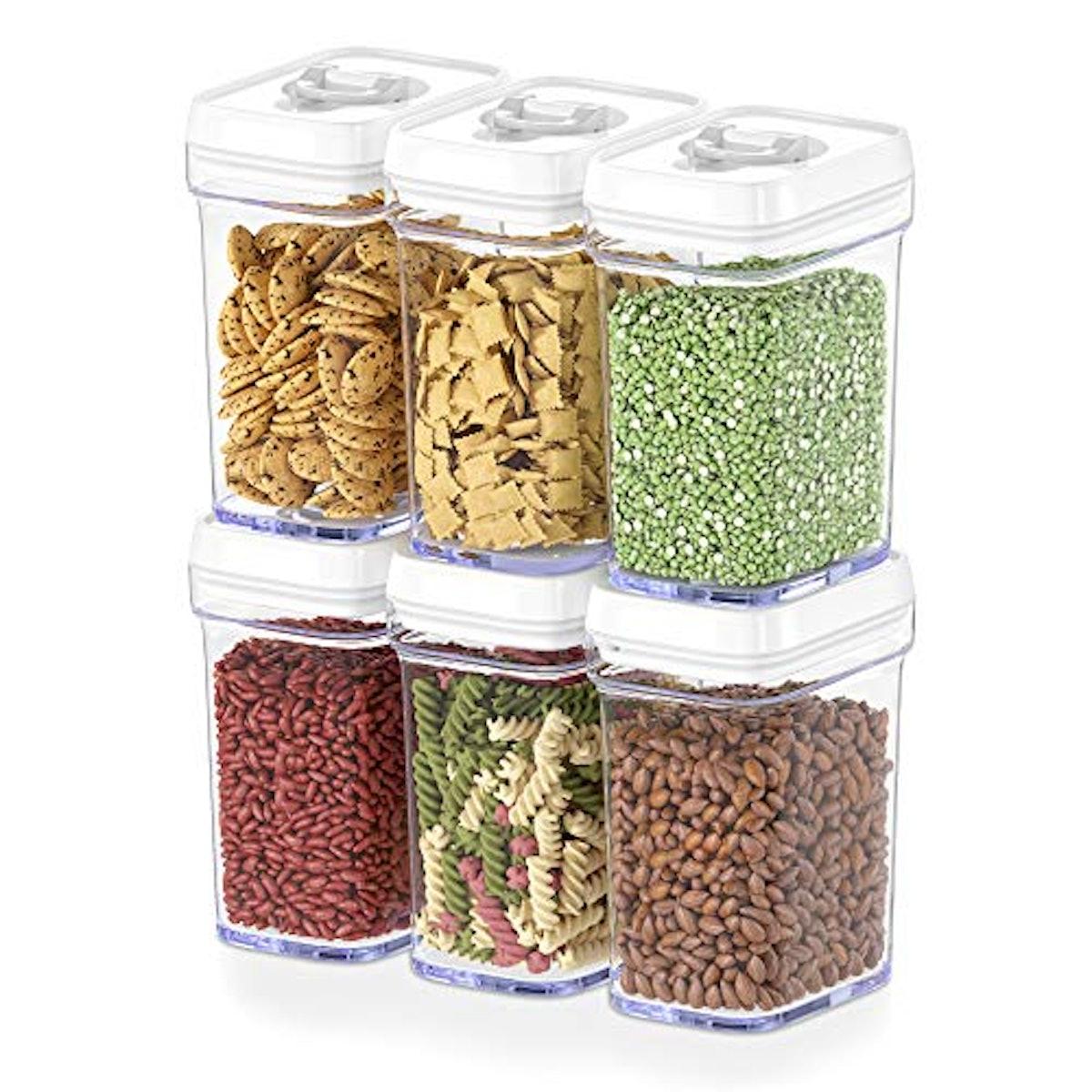 DWËLLZA KITCHEN Food Storage Containers (6-Piece Set)