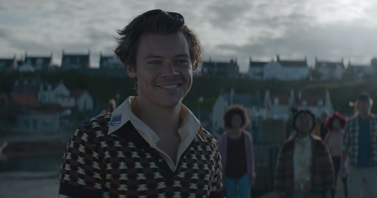 "Harry Styles' ""Adore You"" Video Tells The Story Of A Man & His Fish"