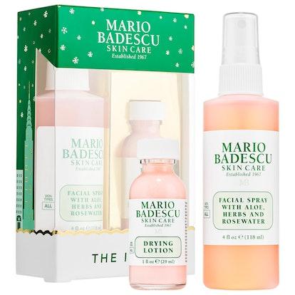 Mario Badescu The Icons: Drying Lotion & Rose Facial Spray Duo