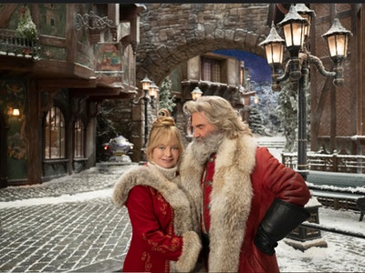 Goldie Hawn & Kurt Russell return for 'Christmas Chronices 2' in 2020