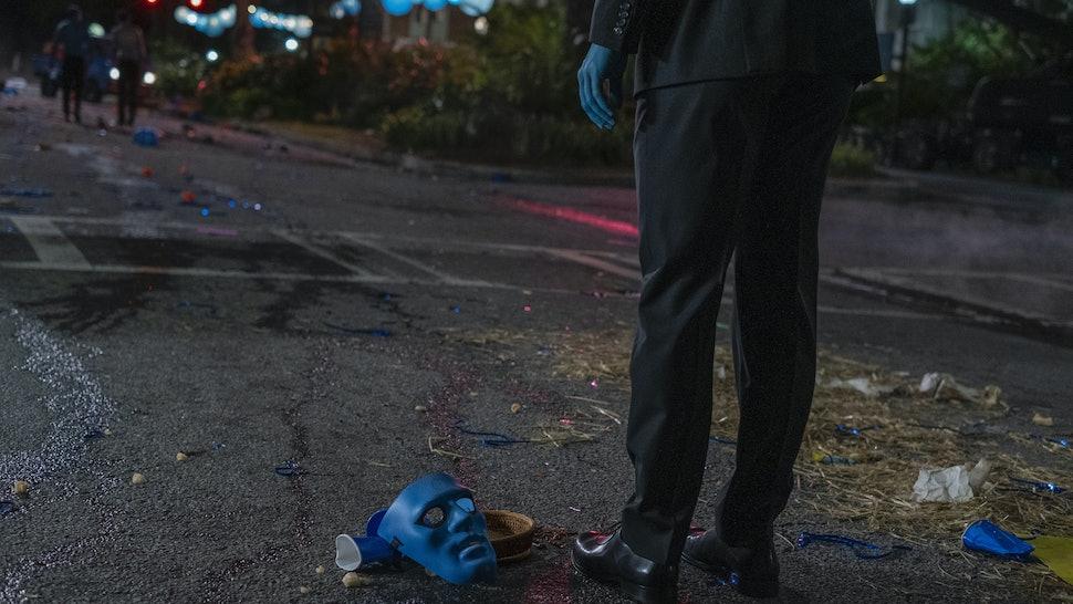 Doctor Manhattan in Watchmen