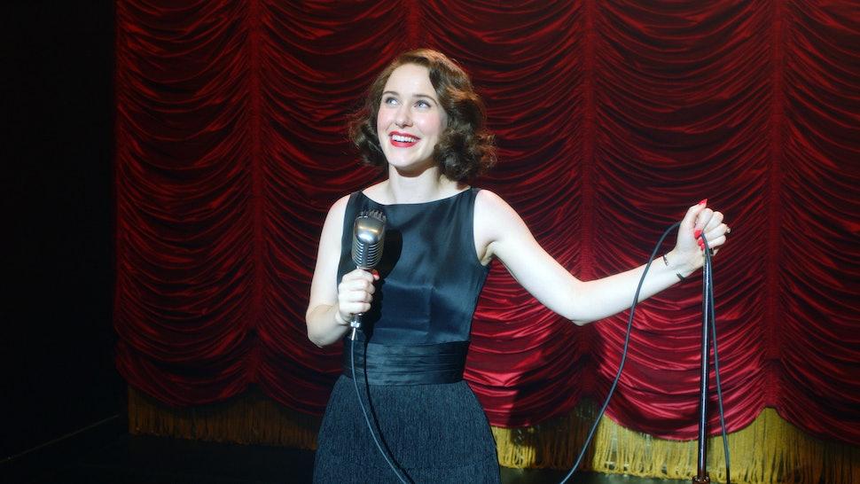 Rachel Brosnahan as Midge in The Marvelous Mrs. Maisel