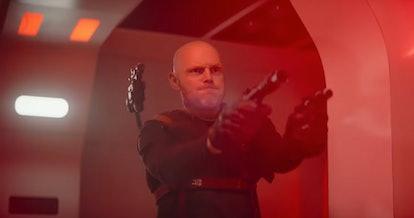 Bill Burr in The Mandalorian