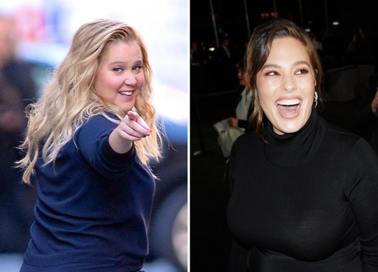 Amy Schumer shared the advice she gave Ashley Graham during her pregnancy/