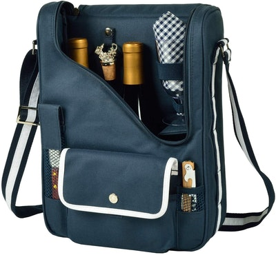 Picnic at Ascot Original Insulated Wine and Cheese Cooler Bag