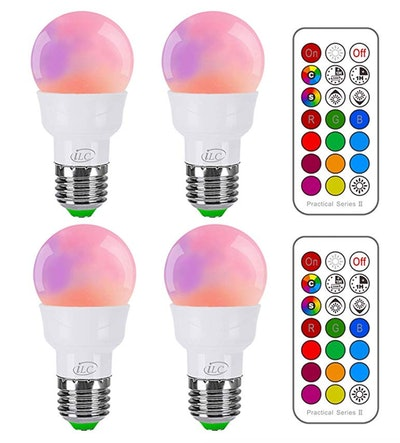 iLC RGB LED Light Bulb, Color Changing Light Bulb