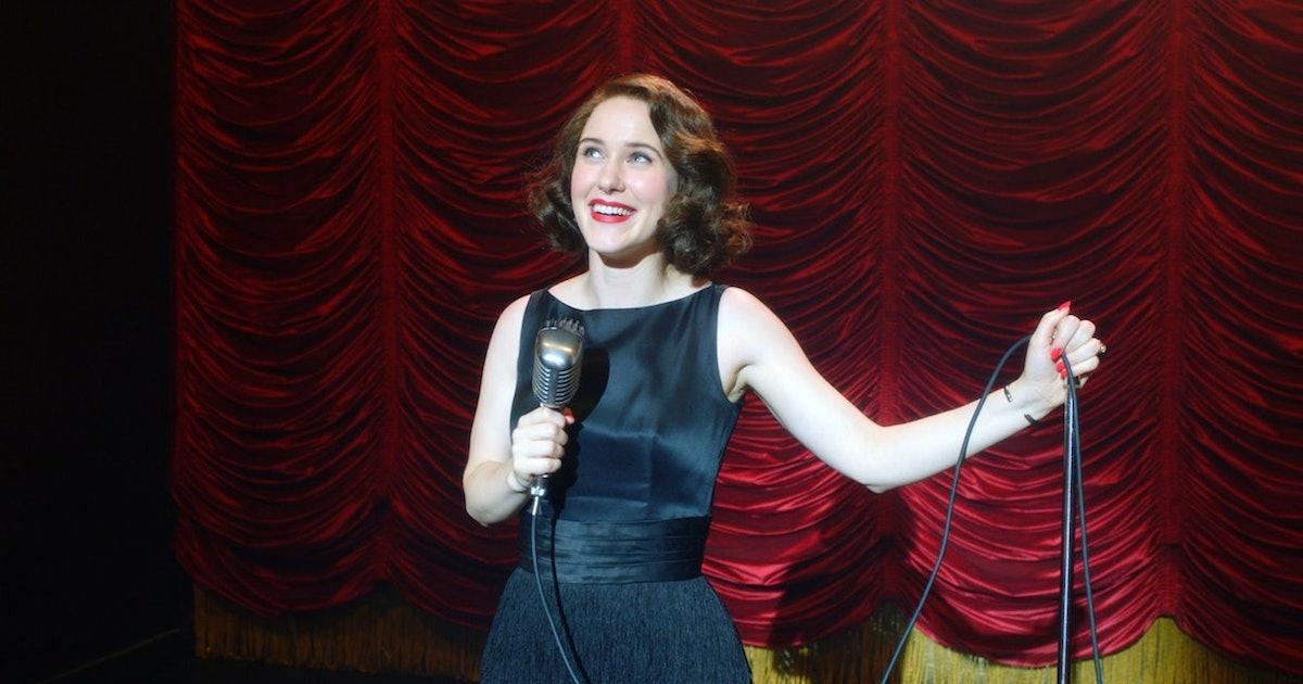 Rachel Brosnahan Doesn't Want Midge & Lenny Bruce To Happen On 'Marvelous Mrs. Maisel'