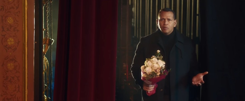 alex rodriguez's snl guest appearance had him ying for j.lo's heart