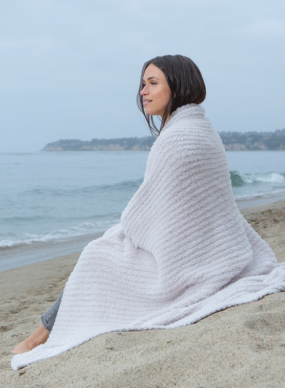 I just want to live in this Barefoot Dreams blanket.