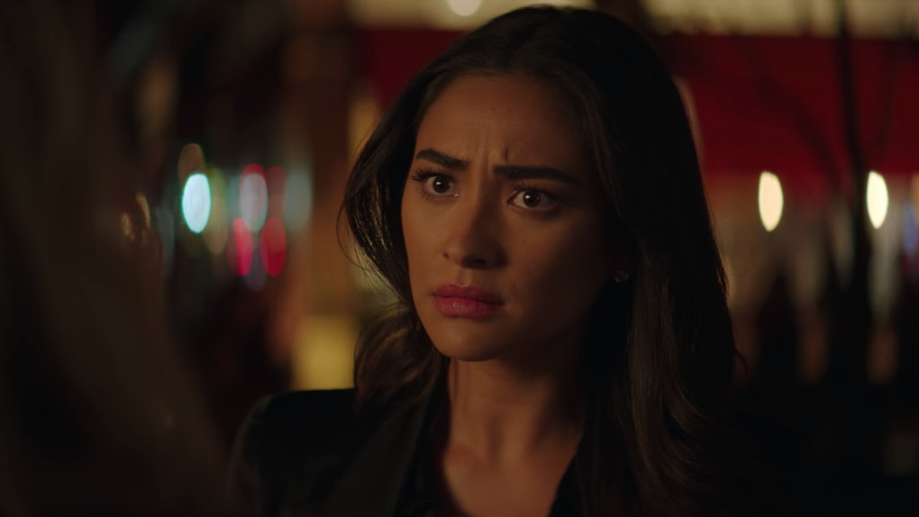 Shay Mitchell as Peach in Netflix's 'You'