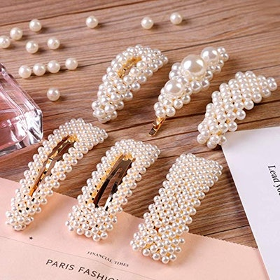 Pearl Hair Clips (12-Pack)