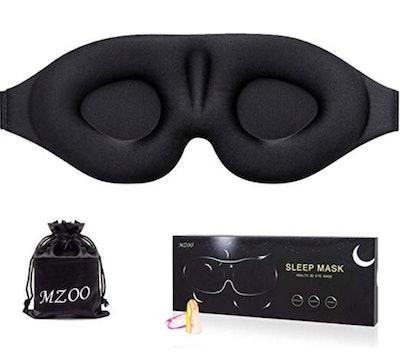 MZOO 3-D Contoured Sleeping Mask