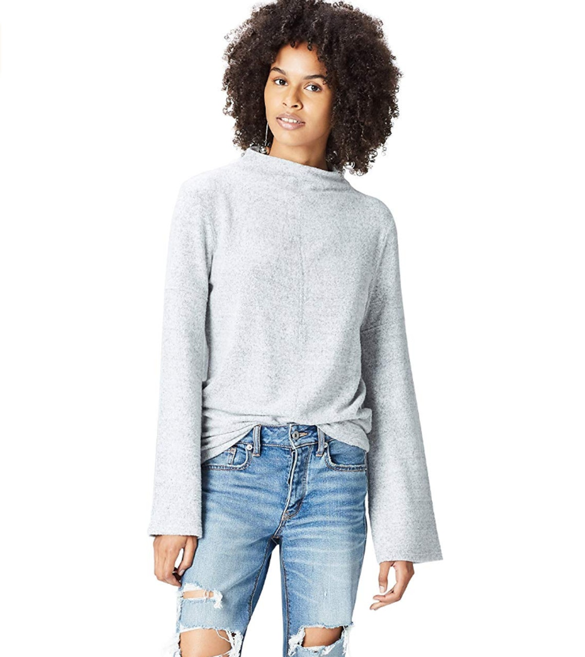 find. Soft High Neck Sweater