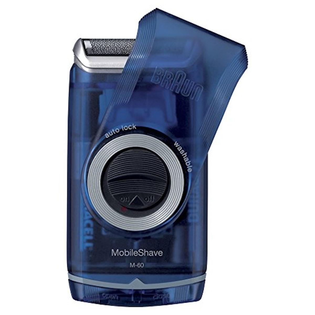 Braun Pocket Mobile Electric Foil Shaver