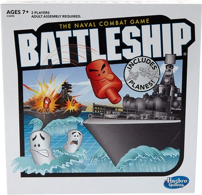 Hasbro's Battleship With Planes Strategy Board Game