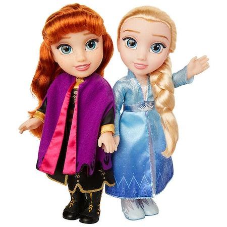 Frozen 2 Anna & Elsa Doll 2-pack