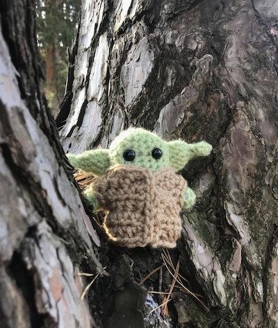 "4"" Baby Yoda Inspired by 'The Mandalorian'"